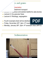 Lecture sediment
