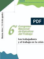 Congreso nacional de estudios del trabajo