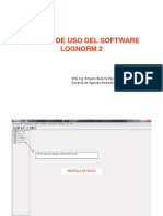 Manual de Uso Del LOGNORM2