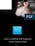 Zend Certification PHP v5.5 Study Guide New 2015