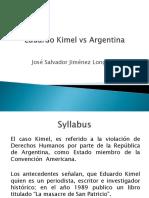 Eduardo Kimel vs Argentina