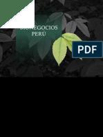 Bionegocios en el Peru