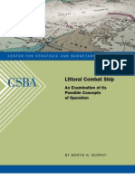 Littoral Combat Ship - Possible Concepts of Operation