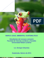 Marco Legal Ambiental de Guatemala