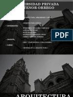 Arquitectura Gótica Final