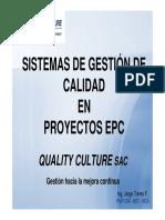 SGC Para Proyectos EPC