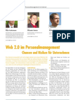 Web 2.0 im Personalmanagement