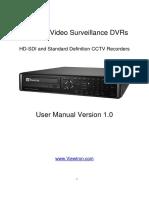 Viewtron Surveillance DVR User Manual