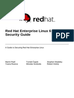 Red Hat Enterprise Linux 6 Security Guide en US | Open Stack