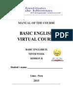 Idiomas Curso Virtual Semana 9  2015