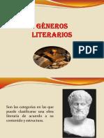 GÉNEROS-LITERARIOS