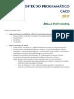 Conteúdo Edital 2017 - Diagramado