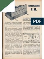 Receptor FM Valvulado MRTV123 Junho1958