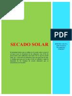 Secado Solar ACTUAL