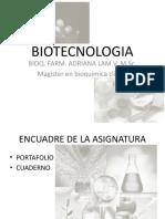 Biotecnologia Clase 1