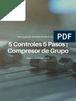 5 Controles 5 Pasos - Compresor de Grupo