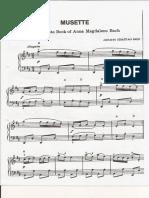 Musette (j.s Bach)
