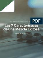 Las 7 Características de Una Mezcla Exitosa (1)