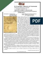 Invitación a la Mesa Redonda sobre el Libro Segundo de Cabildo, en Guate el 12 de julio