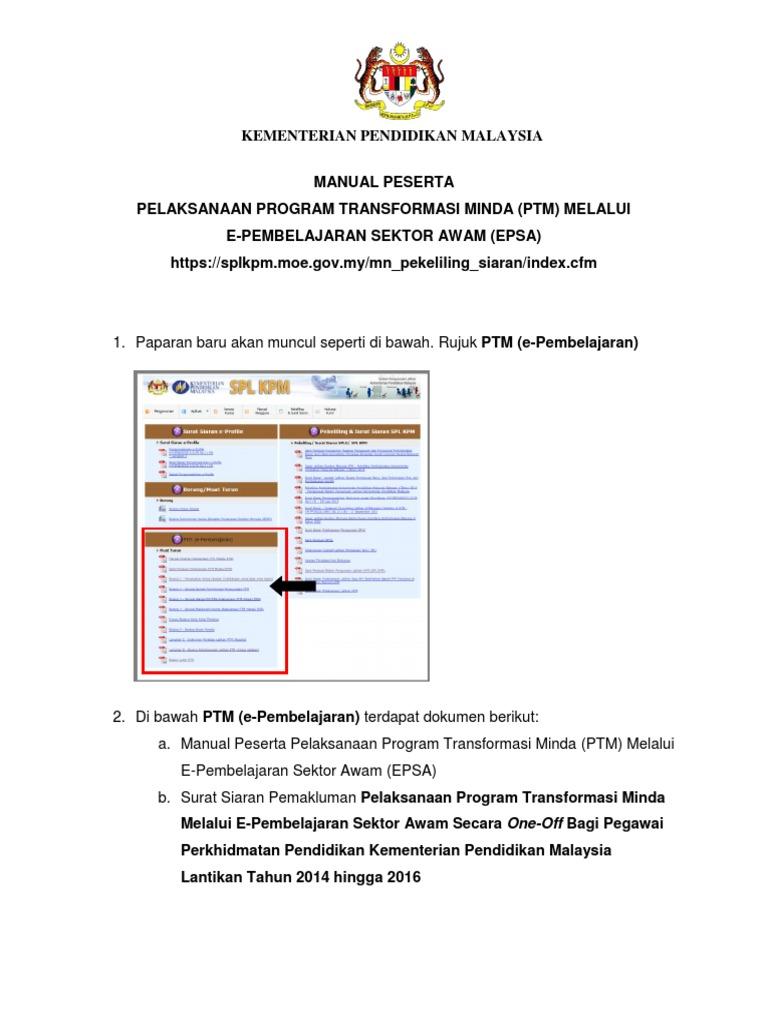 Manual Peserta Ptm
