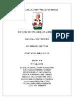Portafolio Organizacón y Método
