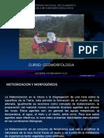 Meteorizacion y Morfogénesis