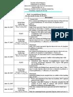 Fldt and Nsap Dar June 16-30 2017