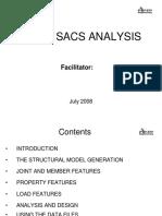 Sacs Training Presentation