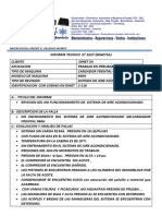 Informe Tecnico 007 Cat 116