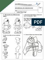EXAMEN  MENSUAL DE COMUNICACION 3 AÑOS.docx