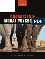 Character and Moral Psychology 1