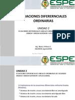 2.6 Aplicaciones de Las EDO Lineales (Modelos)
