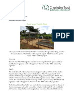 2017 - 03 March Dawasamu Achievement Report -'Kitchen Garden Project'
