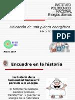 Ubicacion de Una Planta Energética