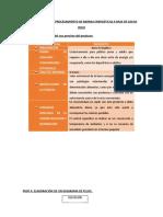 Parte 3,4 y 5 de Plan HACCP