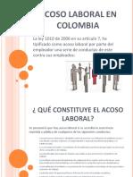 Acoso Laboral en Colombia