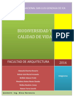 Biodiversidad y Calidad de Vida