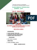Proyecto de Reciclaje San Blas