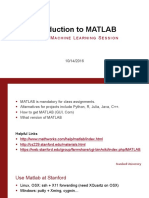 Matlab Session