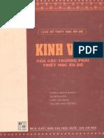Kinh Văn Của Các Trường Phái Triết Học Ấn Độ - Doãn Chính