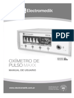 Oximetro Maxx ManualUsuario