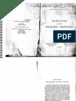 Lectura IT Juan Mackay - Prefacio a La Teología Cristiana, Dos Perspectivas. Ed CUP, Pp. 35-62