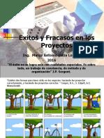 Formulacion y Evaluación de Proyectos Exitos y Fracaso de Los Proyectos