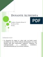 2 Donante Altruista