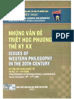Những Vấn Đề Triết Học Phương Tây Thế Kỷ XX - Nguyễn Vũ Hảo