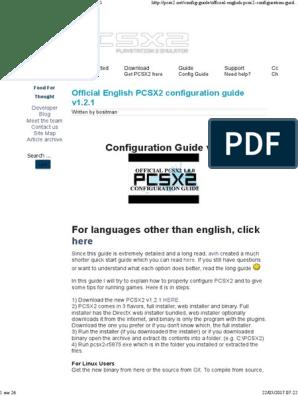 Official English PCSX2 Configuration Guide v1 2 1 | Shader