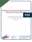 DYCampaignEvaluationSurveyREPORT_Nov2004