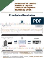Encrige 2016 Presentacion Nacional