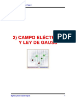 Cap 2 - Campo Eléctrico y Ley de Gauss