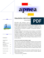 Training Mentale e Apnea